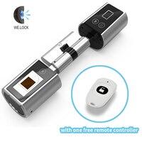 We Lock Cylinder Lock Biometric Fingerprint Door Lock Electronic Door Lock For Home Office