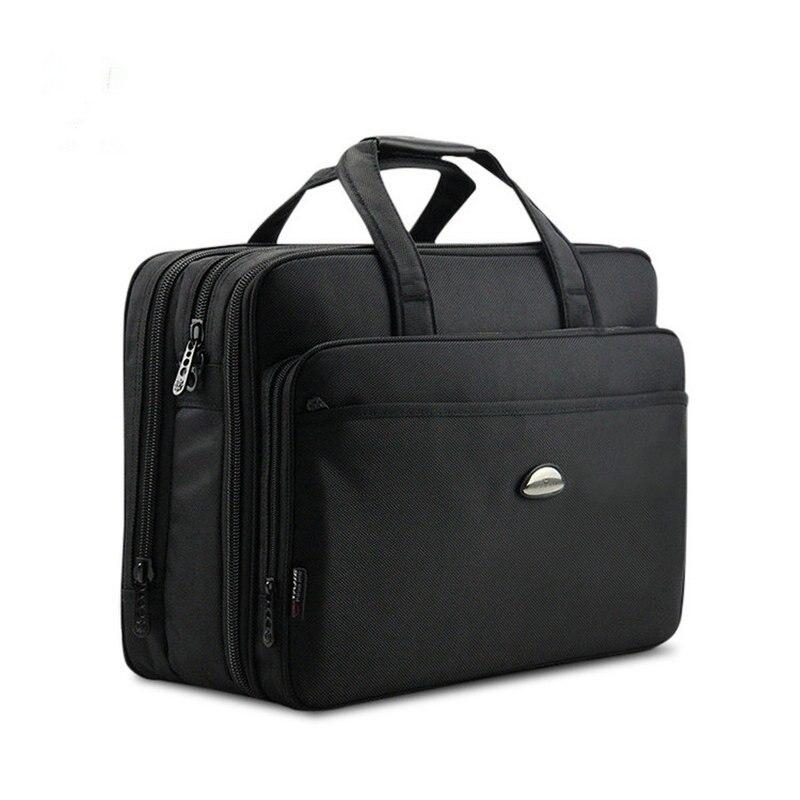 Business Men s Briefcase Luxury Brand Men s Handbags Casual 15 6 17 inch Laptop Bag
