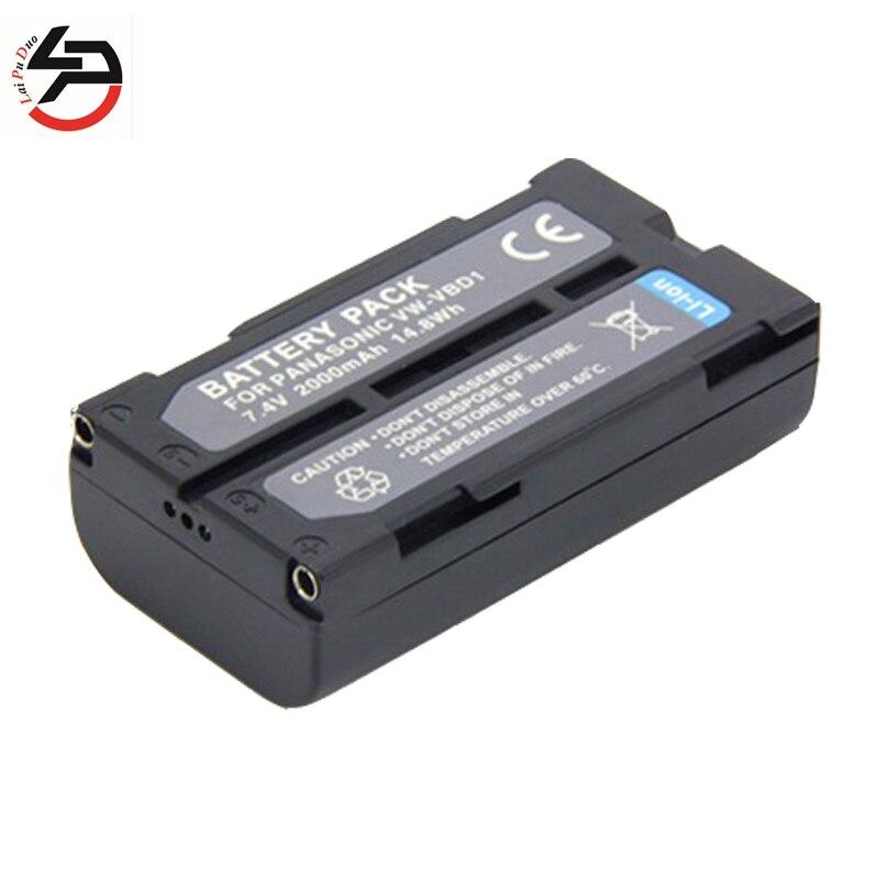 Аккумуляторная батарея LPD 7,4 в 2000 мач для Panasonic, сменный аккумулятор для камеры, для Panasonic, для,