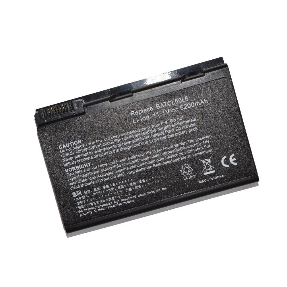 JIGU Laptop Battery for Acer Aspire 5650 9110 9120 3100 3690 5100 5610 5630 5680 BATBL50L6