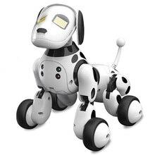 Умный RC робот собака игрушка Умные Электронные Домашние животные Собака детская игрушка милые животные RC умный робот подарок дети подарок на день рождения