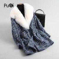PUDI A18018 2018 Для женщин осень/зима новый модная шерстяная одежда куртка с белой шерсти воротник леди короткий стиль для отдыха шерстяное пальт