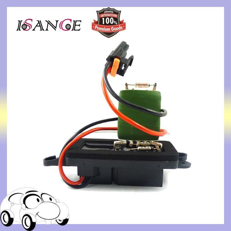 Isance new hvac heater blower motor resistor 89019088 15 for 2007 chevy silverado blower motor