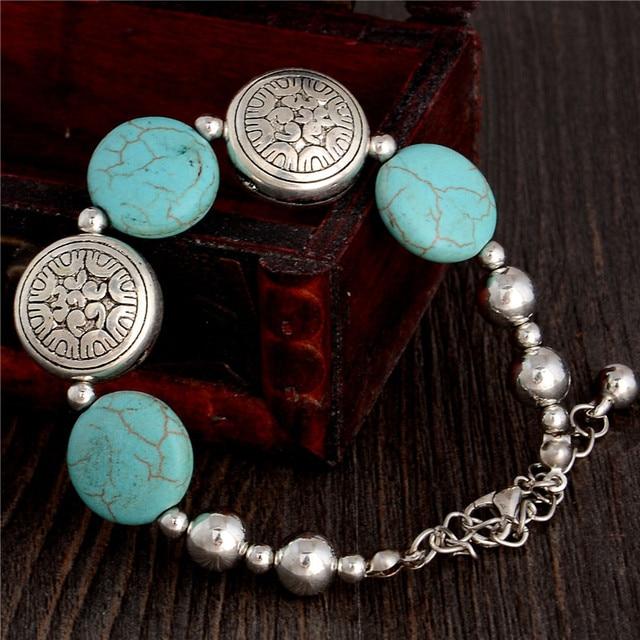 SHUANGR חדש הגעה נשים של צמיד באיכות גבוהה ירוק שרף אבן כסף צבע Bracelelt סיטונאי מחיר