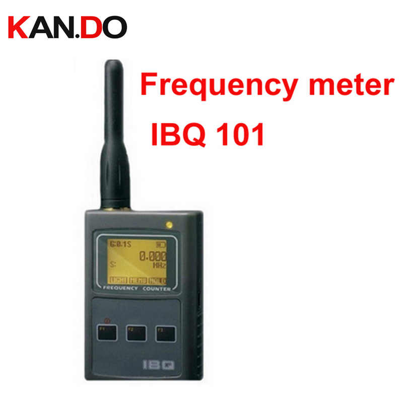 IBQ101 frequency display 50MHz-2 6GHz walkie talkie Frequency Counter  monitor interphone radio detector
