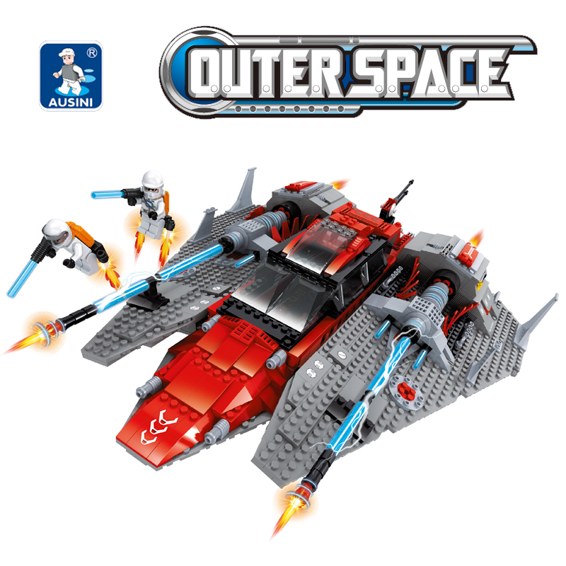 Building Block Set Compatible with lego aerospace 297 3D Construction Brick Educational Hobbies Toys for Kids