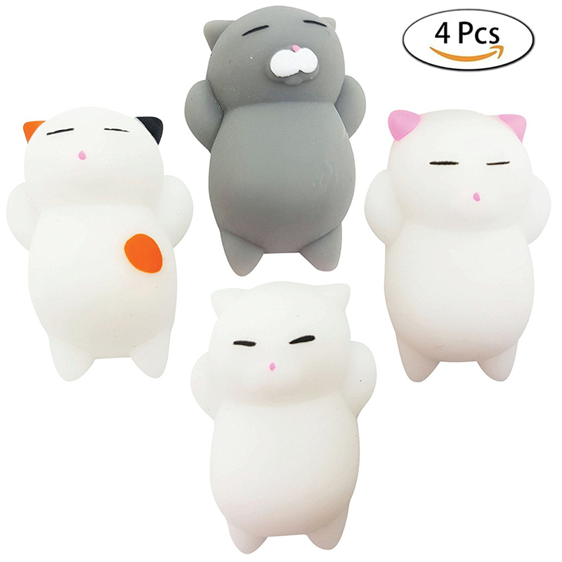 Welding Helmets Dynamic 10cm Squishies Kitty Doughnut Slow Rising Squeeze Cream Scented Stress Relief Toys Kids Adult Toy Stress Reliever Decor Extremely Efficient In Preserving Heat