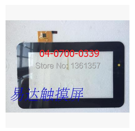 7 дюймов таблетки емкостный сенсорный экран 04-0700-0339 бесплатная доставка