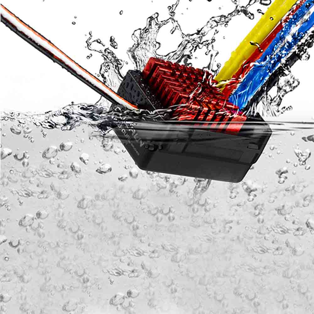ФОТО Hobbywing Quicrun WP 860 Dual 60A Brushed Waterproof Motor ESC RC 1/10 Boat Car