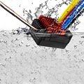 Hobbywing Quicrun WP 860 Dual 60A Brushed Waterproof Motor ESC RC 1/10 Boat Car