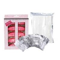 Nail Polish Remover Set Clip Cap Clean Wipes Cotton Gel Remove Liquid UV Gel Nail