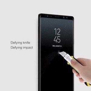 Image 5 - Protector de pantalla de vidrio templado para Samsung Galaxy Note 9 NILLKIN Amazing 3D CP + MAX, vidrio Protector de cobertura completa antiexplosión