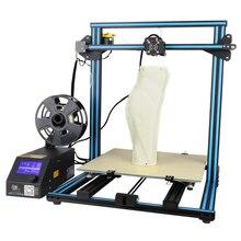 Creality CR-10 S4 большой размер печати 400*400*400 мм DIY 3D принтер полусобранная нить тревожная мощность предполагаемая функция