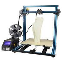 Creality CR-10 S4 Große 400*400*400mm druck größe DIY 3D drucker semi-montiert filament alarmierend power übernehmen funktion