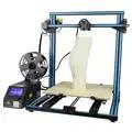 Criatividade CR 10 S4 Grande 400*400*400 milímetros tamanho de impressão DIY 3D alarmante de filamentos de impressora semi montado poder assumir a função