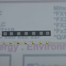 1 шт A98L-0001-0519 FANUC 7 ключевых Клавиатура Кнопка мембраны, A98L 0001 0519, A98L00010519
