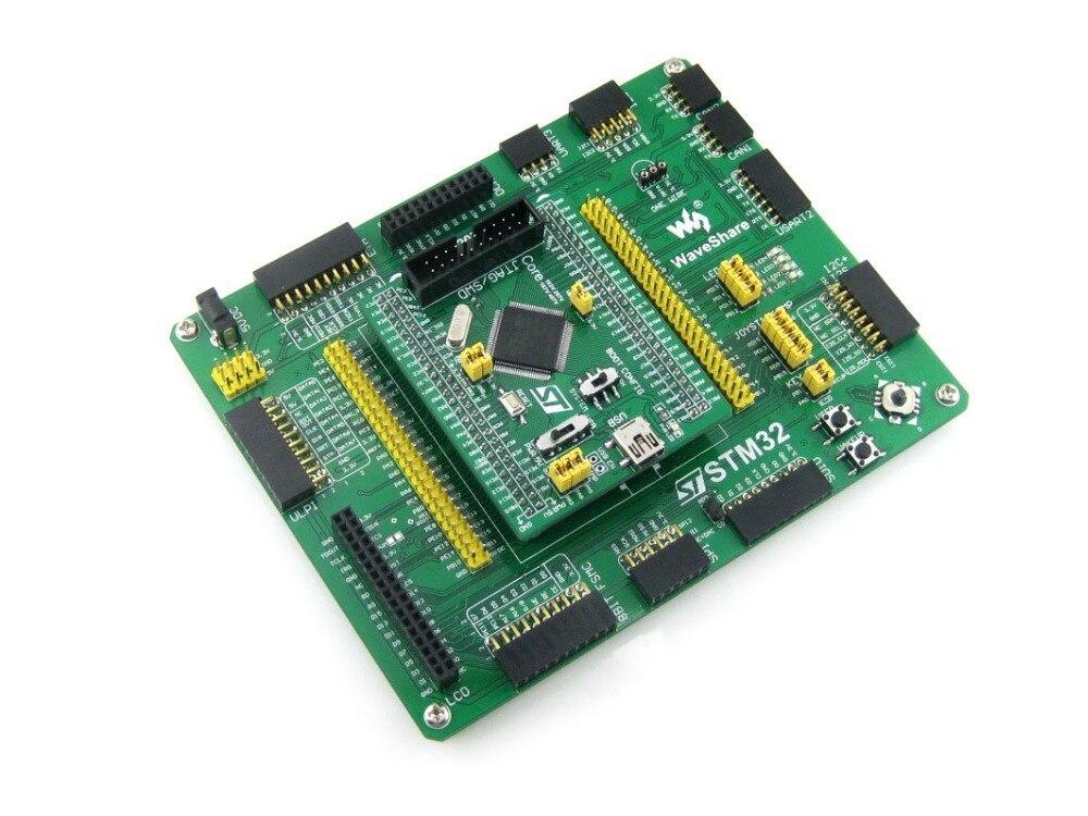 2pcs/lot STM32 STM32F407VET6 STM32F407 ARM Cortex-M4 STM32 Development Board + PL2303 USB UART Module Kit = Open407V-C Standard
