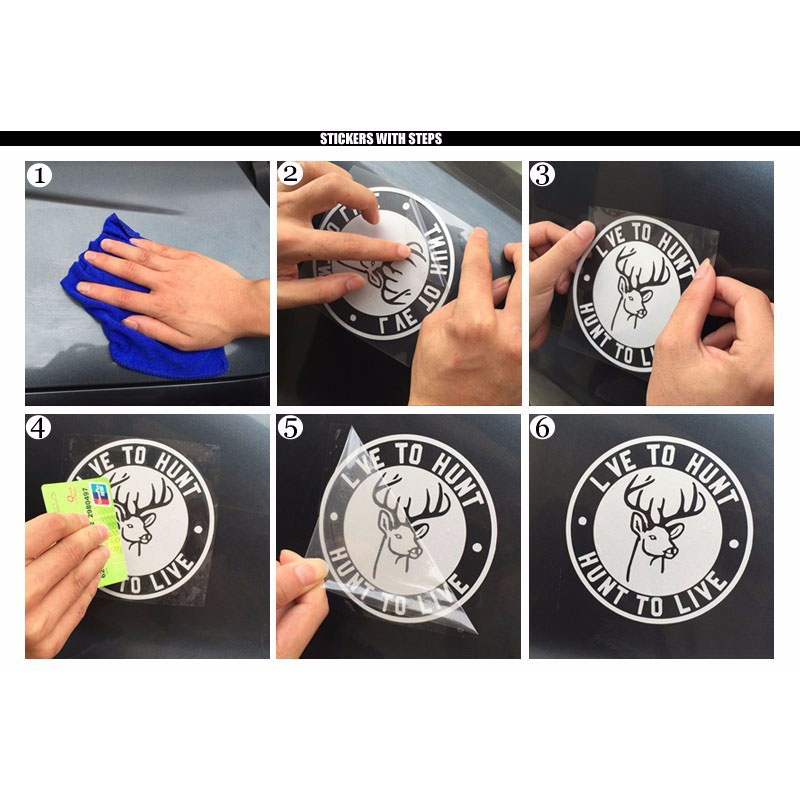 Image 3 - Car Stickers For Reflective Decal Vinyl Stickers Auto Funny Sticker Vehicle Exterior Lion Totem Motorcycle Stickers-in Car Stickers from Automobiles & Motorcycles