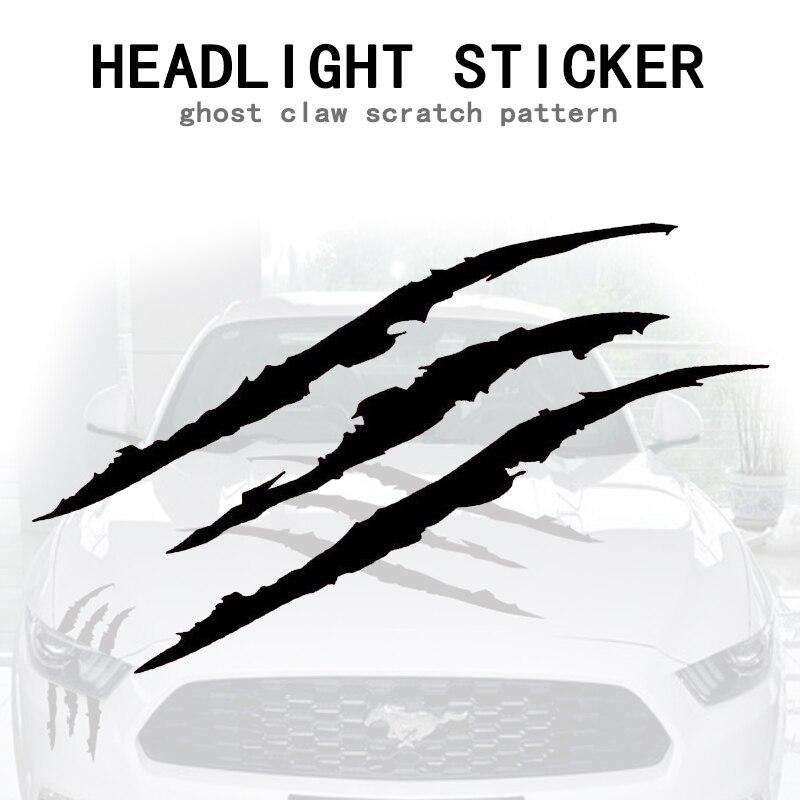 Universal Scratch Stripe Scheinwerfer Truck Decal Sticker Autozubehör DE Ksy