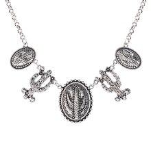 Neue Kaktus Halskette ethnische kurze Halskette Mode für Frauen