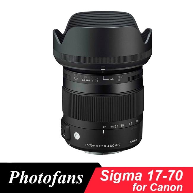 Sigma 17-70 Sigma 17-70mm f/2.8-4 DC Macro OS HSM Obiettivo per canon 1300D 700D 750D 760D 800D T3i T5 T6...