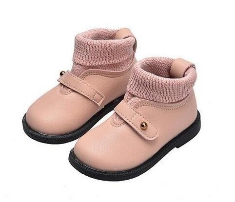 1-6 Tahun Anak-anak Sepatu Balita Gadis Kasual Martin Boots 2018 Musim Gugur f99062adb3