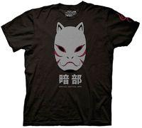 Naruto Shippuden Anbu Black Ops Mask T Shirt