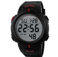Skmei 1025 Men Sport Watch Outdoor Wristwatches Brand Men LED Digital Military Watch, 50M Dive Swim Dress Sports Watches