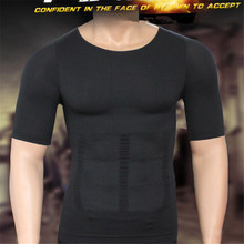 Mens Compression T-Shirt Body Building Shirt for Men Summer Slim Dry Quick Under