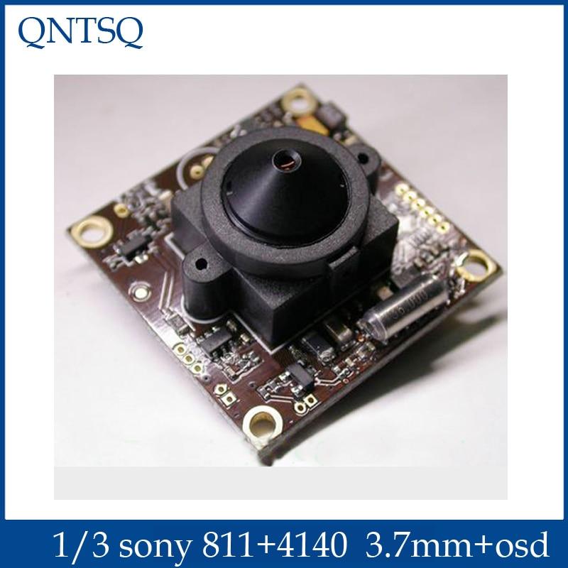 Latest 1/3 Sony 700TVL(4140+811) Effio-e CCD CCTV Board Camera, OSD Menu