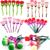 6pcs Rose Flower Shaped Makeup Brushes Set Foundation Contour Powder Eyeshadow Unicorn Make Up Brushes With
