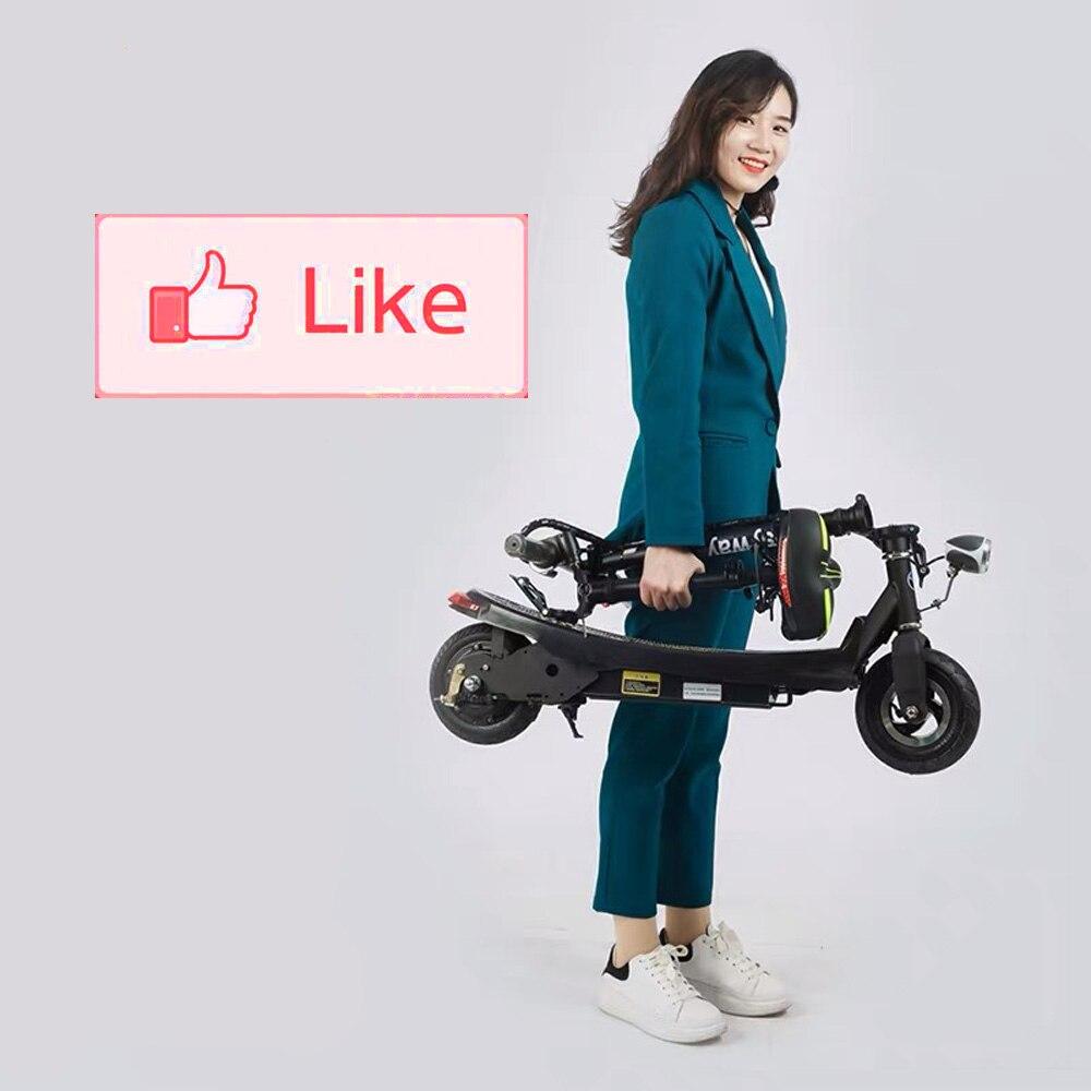 Mini Scooter électrique intelligent pliant de 2 roues E-ABS de planche à roulettes rapide et léger