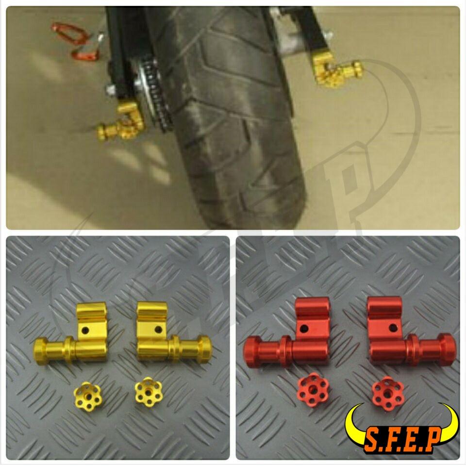 Motorcycle CNC Aluminum Swingarm Spool Adapters Mounts For Honda MSX125 MSX125SF PCX 125/150 PCX125 PCX150