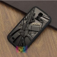 Nice Weapons Rifle Guns fashion phone case for samsung galaxy S3 S4 S5 S6 S6 edge S7 S7 edge Note 3 Note 4 Note 5 #LI6316