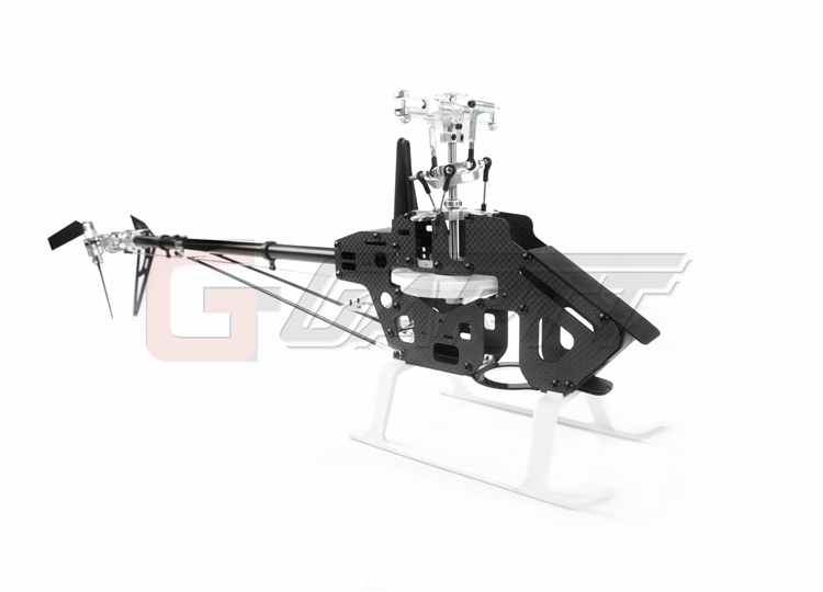 Ormino RC Gartt 450 DFC Torque Tube (not include Canopy & Blade) 450 pro dfc tail boom mount torque tube front drive gear set for trex 450 helicopter