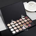 Pro 28 Colores de Sombra de Ojos Cosméticos de Maquillaje Shimmer Mate Sombra de Ojos Paletee Natural