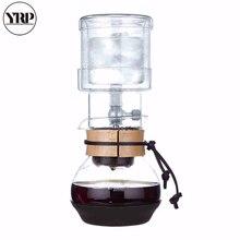 YRP 400ml Cold Brew Coffee Maker Espresso Coffee Dripper Reusable Coffee Paper Filter Glass Percolators Ice Water Drip Tool Pot цена 2017