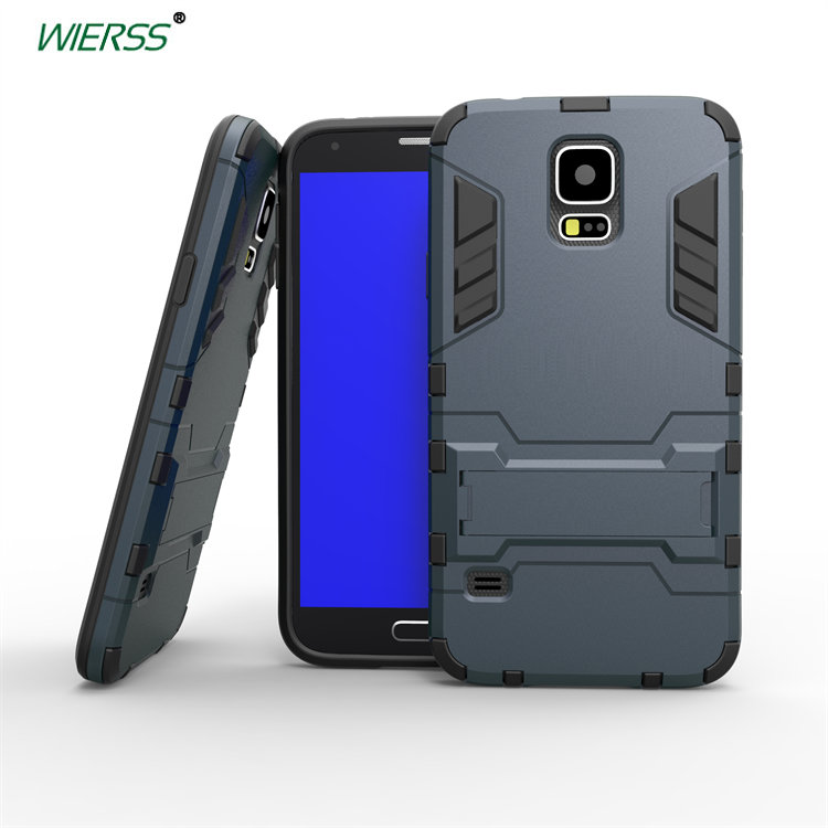 3D Shockproof Stand <font><b>case</b></font> For <font><b>Samsung</b></font> <font><b>Galaxy</b></font> <font><b>S5</b></font> Neo i9600 <font><b>G900F</b></font> G900I G903F Slim Combo Armor <font><b>CASE</b></font> shell Back cover image