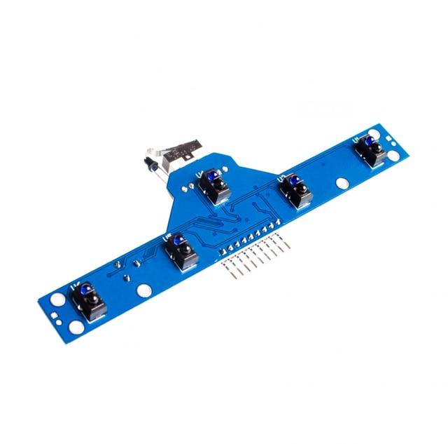 Resultado de imagen para Smart Electronics Five road tracking module tracking sensor 5 functions to send routines 5 TCRT5000