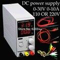 Mini Digital Ajustável DC power supply, 0 ~ 30 V 0 ~ 10A, 110 V OU 220 V, fonte de alimentação de comutação, certificação, para os EUA/EU/AU Plug