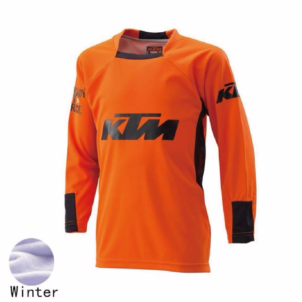 <font><b>motorcycle</b></font> <font><b>jersey</b></font> Winter <font><b>long</b></font> <font><b>sleeve</b></font> <font><b>Quick</b></font> dry motorbike racing Thermal Fleece cycling shirts Motocross <font><b>Jerseys</b></font> XXS TO 5XL