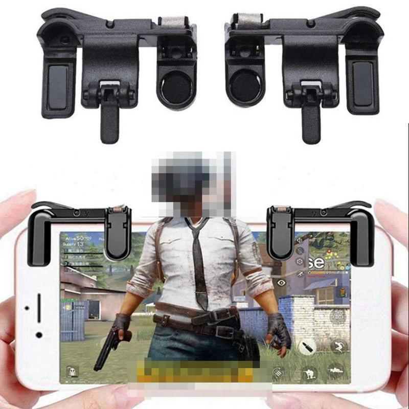 Mobile Phone Gaming Trigger Fire Button Handle For Shooter Controller