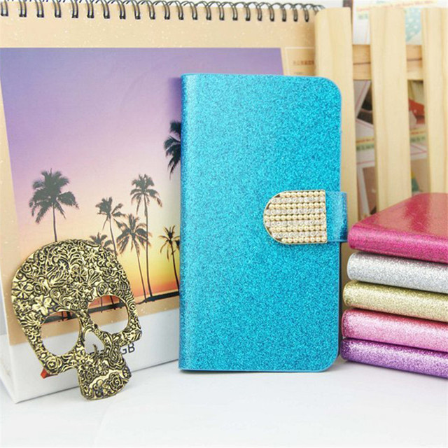Luxury Glitter Case For Huawei Ascend P8 Lite ALE-L21 Cover Premium Flip Magnet Wallet PU Leather Phone Bag For Huawei ALE-L21