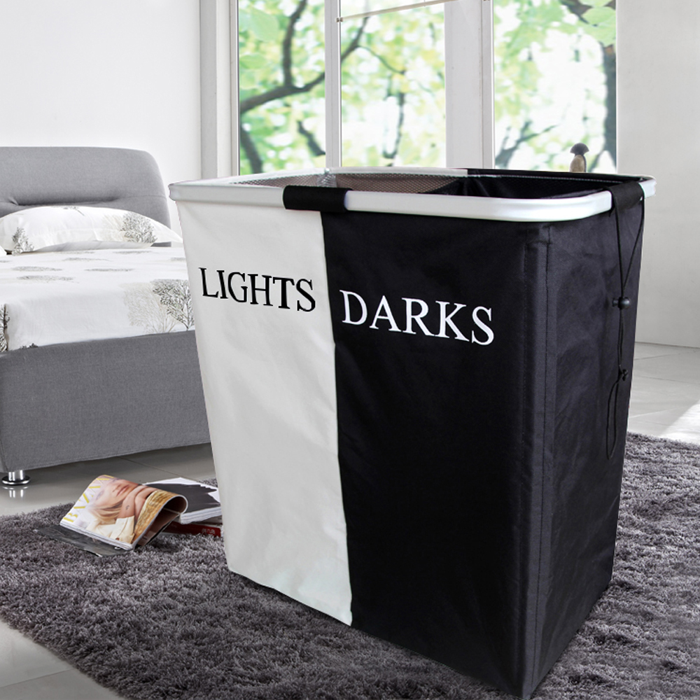 Free Shipping Laundry Basket Foldable Storage Organizer Laundry Bag Underwear Bra Dirty Clothes Waterproof Home Decoration