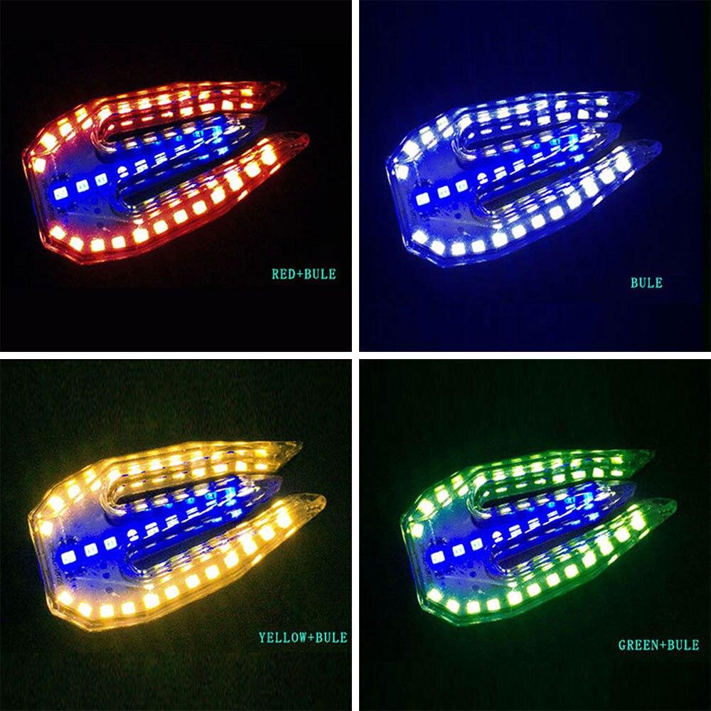 Мотоцикл DRL Замена поворотного сигнала Универсальный двойного назначения сигнал поворота прочный ремонт сигнальная лампа, индикатор света