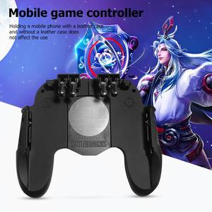 Image 2 - H9 Mobile Phone Gamepad for Pubg Joystick Hand Grip Free Fire Button for Pubg Controller L1R1 Trigger for Pubg Game Accessories