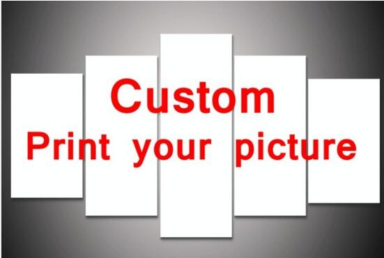 5 Pieces Set Custom Your Own Design Or Pictures Wall Art