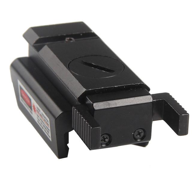 Red Dot Tactical Laser Sight Low Profile 532nm Scope Fit 20mm Weaver Rail Mount for Pistol Rifle Gun RL3-0005-10