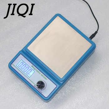 JIQI Laboratory LCD Digital Display Magnetic Stirrer Chemistry Liquid Mixer stir bar No Heating Plate Hotplate 1000ml 100V-240V - DISCOUNT ITEM  13% OFF All Category