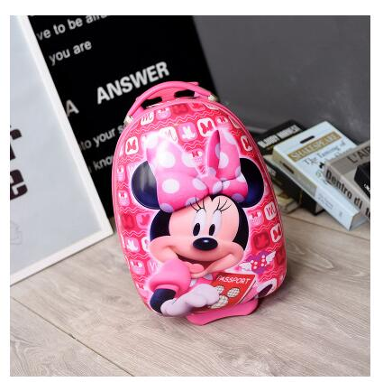 Cartoon kids Trolley suitcase Children Travel Luggage case wheeled bag for Girl boy Rolling Bags on wheels Trolley case for kids travel luggage trolley bags rolling baggage nylon waterproof travel wheeled bags luggage suitcase on wheels travel duffles tote